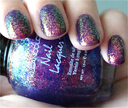KleanColor 234 Chunky Holo Purple Review & Swatches