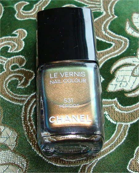 Limited Edition Chanel Nail Polish Peridot Picture