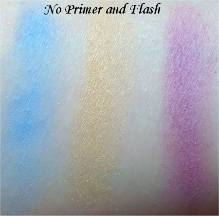 NYX Eye Shadow Trio Team Spirit Swatch &amp; Review