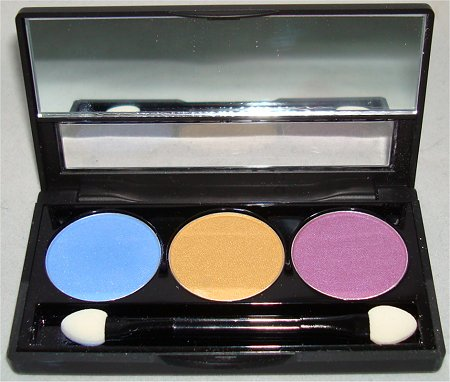 NYX Eyeshadow Trio Team Spirit Review &amp; Swatch