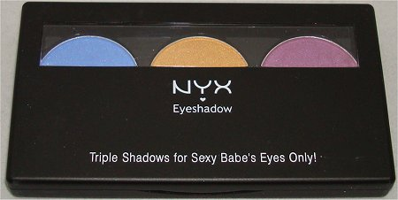 NYX Eyeshadow Trio Team Spirit Review & Swatches