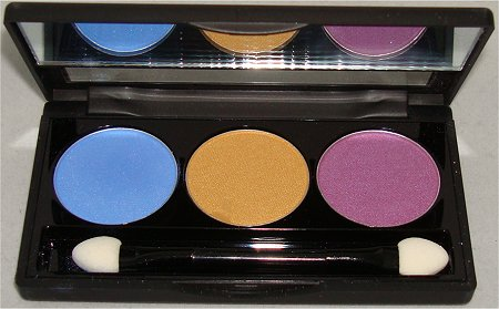 NYX Eyeshadow Trio Team Spirit Swatches &amp; Review