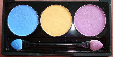 NYX Team Spirit Eye Shadow Trio Swatches & Review