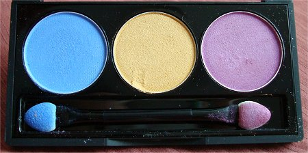 NYX Team Spirit Eyeshadow Trio Swatches & Review