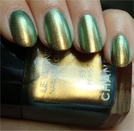 Natural Light Chanel Peridot 531 Swatch & Review