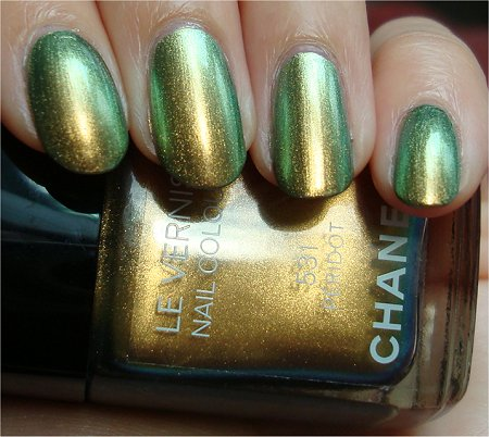 Natural Light Chanel Peridot 531 Swatches & Review