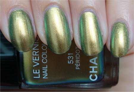 Natural Light Chanel Peridot