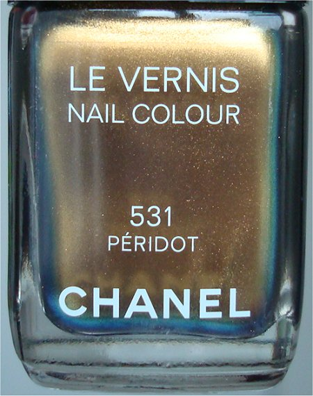 Natural Light Peridot by Chanel Nail Polish Review