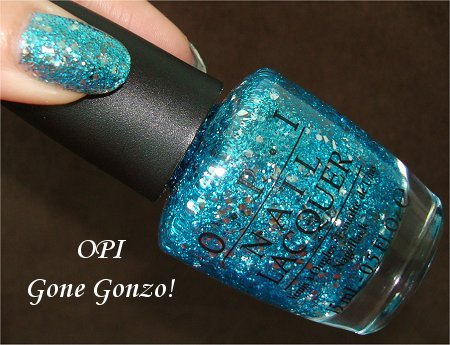OPI Gone Gonzo Review &amp; Swatches