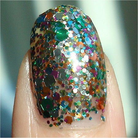 OPI Muppets Holiday 2011 Collection Swatches & Review OPI Rainbow Connection Swatches & Review