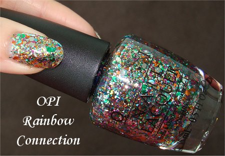 OPI Rainbow Connection Nail Polish Swatches