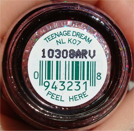 OPI Teenage Dream Bottle Shot