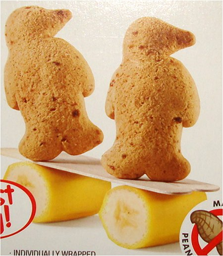 PC Banana Bread Little Penguins Soft Cookies