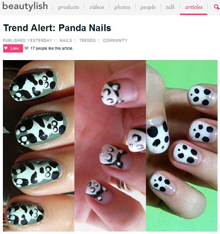 Panda Nails Beautylish