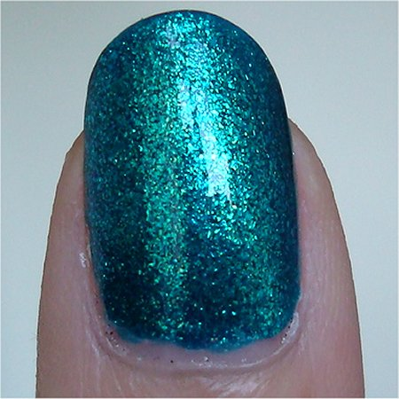 Quo Orly Turquoise Moonlight Swatch & Review