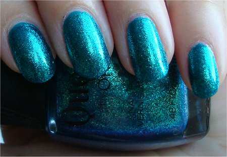 Quo Turquoise Moonlight Swatch & Review