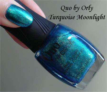 Quo Turquoise Moonlight Swatches & Review