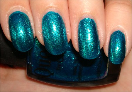 Quo by Orly Nail Polish Review & Swatches Turquoise Moonlight