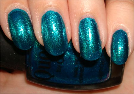 Quo by Orly Swatches & Review Turquoise Moonlight