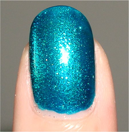 Quo by Orly Turquoise Moonlight Nail Polish Swatch & Review