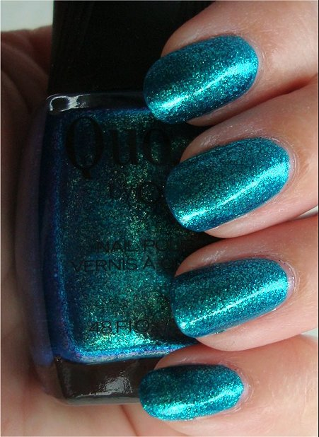 Quo by Orly Turquoise Moonlight Swatches & Review