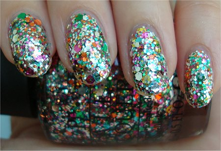 Rainbow Connection OPI Holiday 2011 Collection Swatches & Review