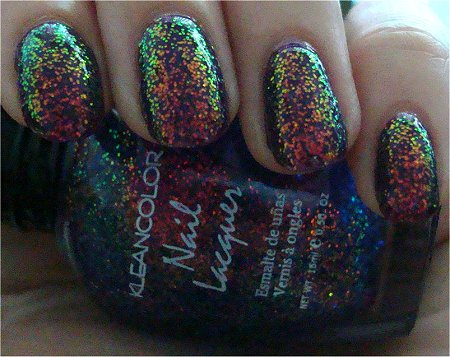 Shade KleanColor Chunky Holo Purple Review & Swatch