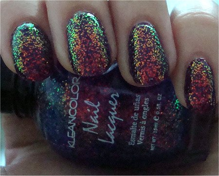Shade KleanColor Chunky Holo Purple Review & Swatches