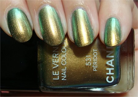 Sunlight Chanel Peridot Review & Swatch