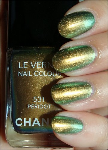 Sunlight Chanel Peridot Swatches, Review & Photos