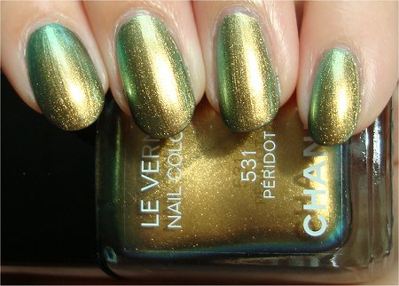 Sunlight Chanel Peridot Swatches & Review