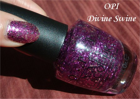 Sunlight Divine Swine by OPI Bottle Picture