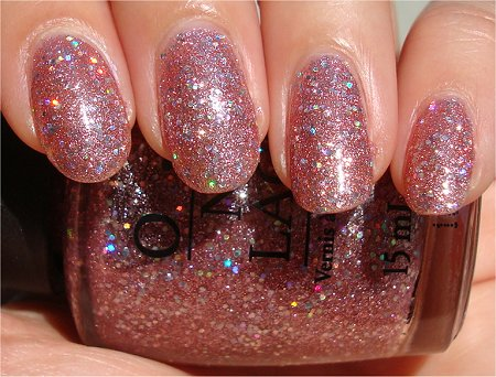 Sunlight Katy Perry Collection OPI Teenage Dream Review & Swatch