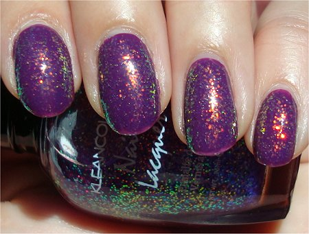 Sunlight KleanColor Chunky Holo Purple Swatches & Review