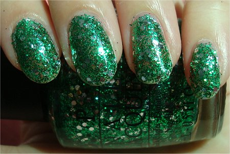 Sunlight OPI Fresh Frog of Bel-Air Swatch & Review