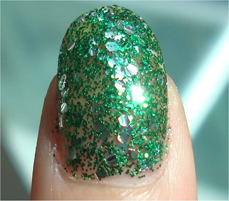 Sunlight OPI Fresh Frog of Bel Air Swatch & Review