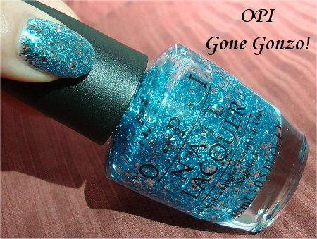 Sunlight OPI Gone Gonzo Review &amp; Swatches