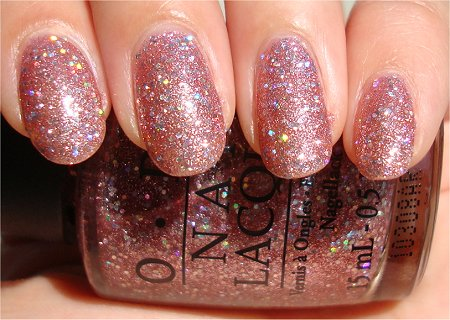 Sunlight OPI Katy Perry Collection OPI Teenage Dream Swatch & Review