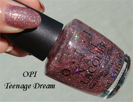 Sunlight OPI Teenage Dream Review & Swatches
