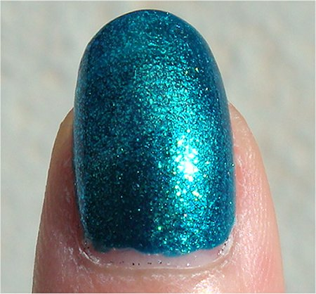 Sunlight Quo by Orly Nail Polish Turquoise Moonlight Review & Swatch