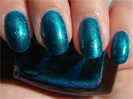 Sunlight Quo by Orly Turquoise Moonlight Review & Swatches