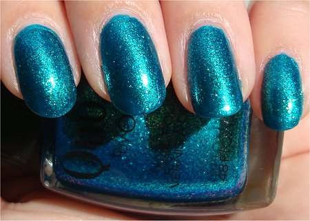 Sunlight Quo by Orly Turquoise Moonlight Swatch & Review
