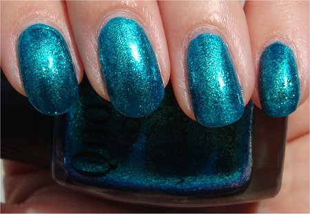 Sunlight Quo by Orly Turquoise Moonlight Swatches & Review