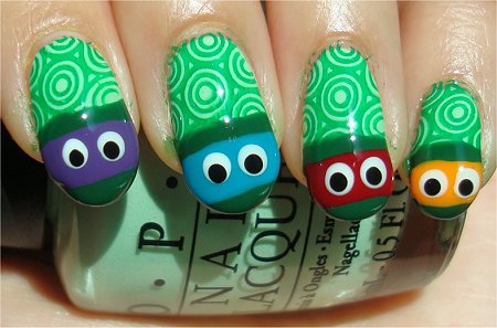 TMNT Nail Art Tutorial