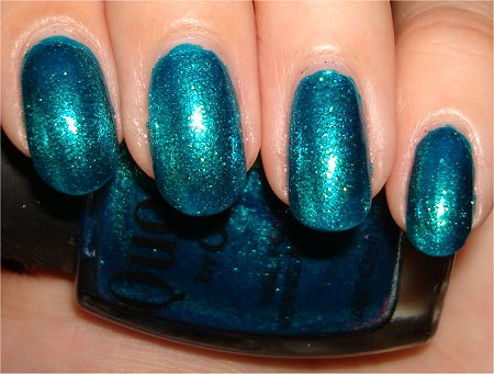 Turquoise Moonlight Quo by Orly Review & Swatch
