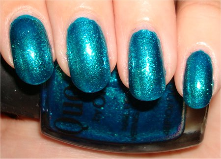 Turquoise Moonlight Swatch & Review Quo by Orly Nail Polish