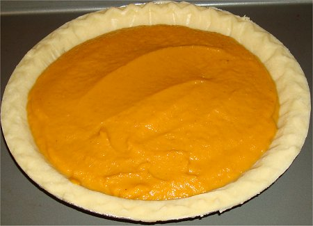 Baking Pumpkin Pie