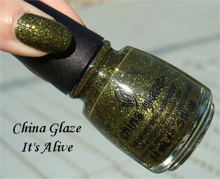 China Glaze It's Alive Bottle Picture