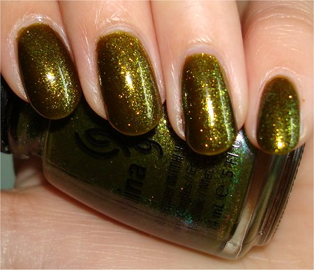 China Glaze Zombie Zest Swatch China Glaze Awakening Collection 2010