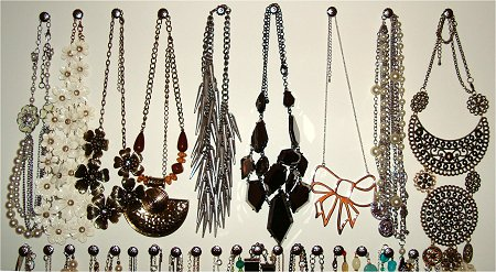 DIY Necklace Organizer Tutorial
